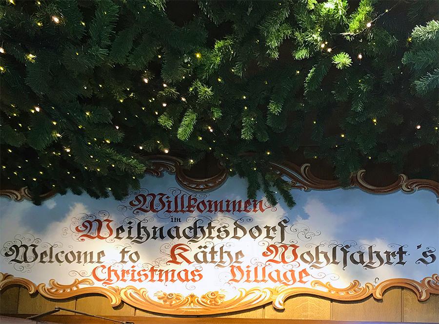 Willkommen im Weihnachtsdorf von Käthe Wohlfahrt - das ganze Jahr hindurch, Sommer wie Winter!