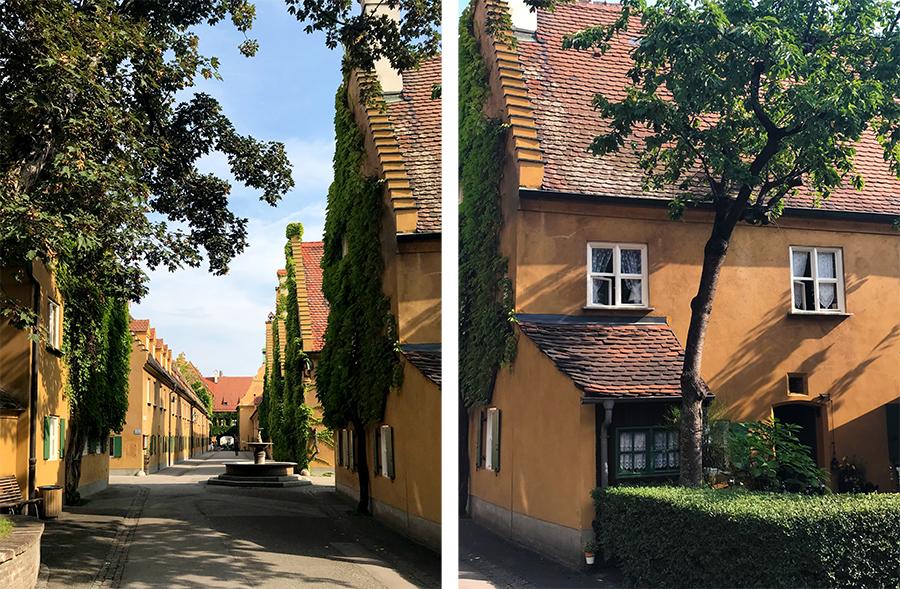 In das Häuschen rechts mit dem Vorgarten wären wir am liebsten direkt eingezogen!