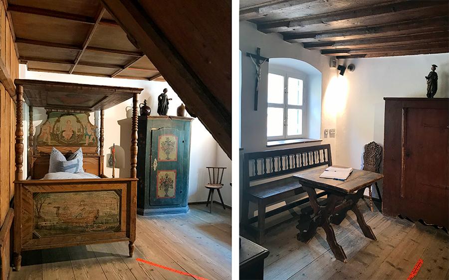 """Im """"Fuggerei-Museum"""" bekommt ihr nun auch einen Eindruck, wie die Häuser wohl im Mittelalter eingerichtet waren."""