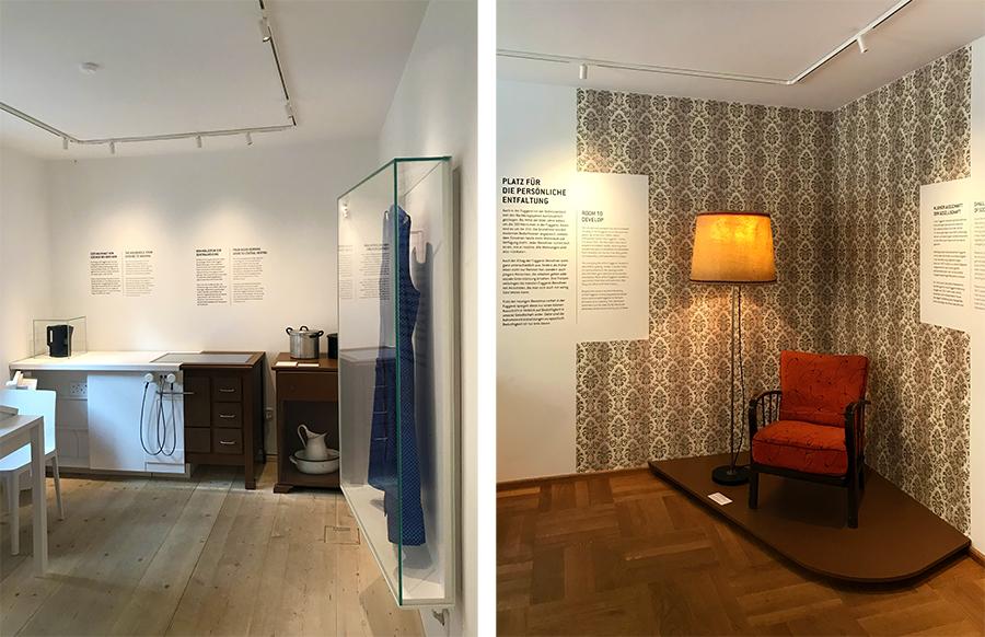Alte und neue Einrichtung wird in jeden Raum gegenübergestellt. Was ein Unterschied!
