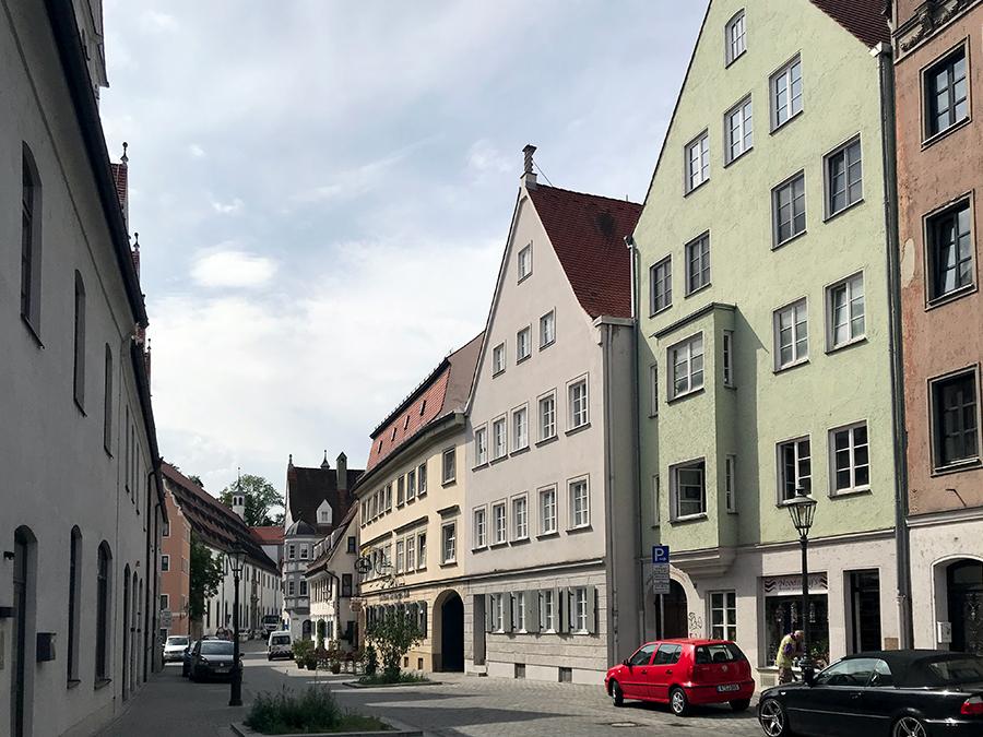 Wirklich sehr beschaulich und idyllisch, sich ein wenig durch Augsburg treiben zu lassen.
