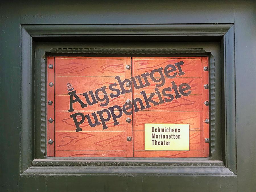Willkommen an der Augsburger Puppenkiste, dem wohl bekanntesten Marionettentheater!