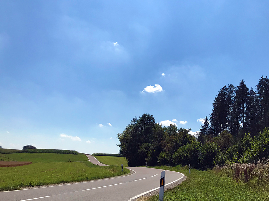 Immer der Nase nach - zumindest beinahe - auf den Ferienstraßen in Deutschland unterwegs!
