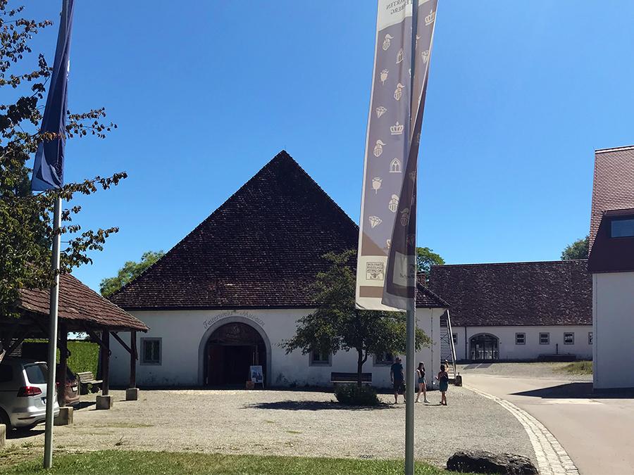 Das Feuerwehrmuseum auf dem Gelände von Kloster und Schloss Salem.